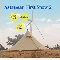 First Snow2  Asta Gear Tent...